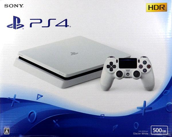 PlayStation4 グレイシャー・ホワイト 500GB[SIE]【送料無料】《在庫切れ》