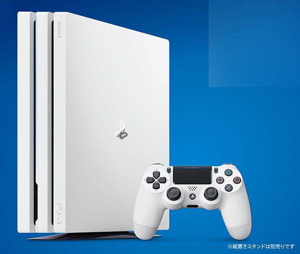 PlayStation 4 Pro グレイシャー・ホワイト 1TB (CUH-7100)(再販)[SIE]【送料無料】《在庫切れ》