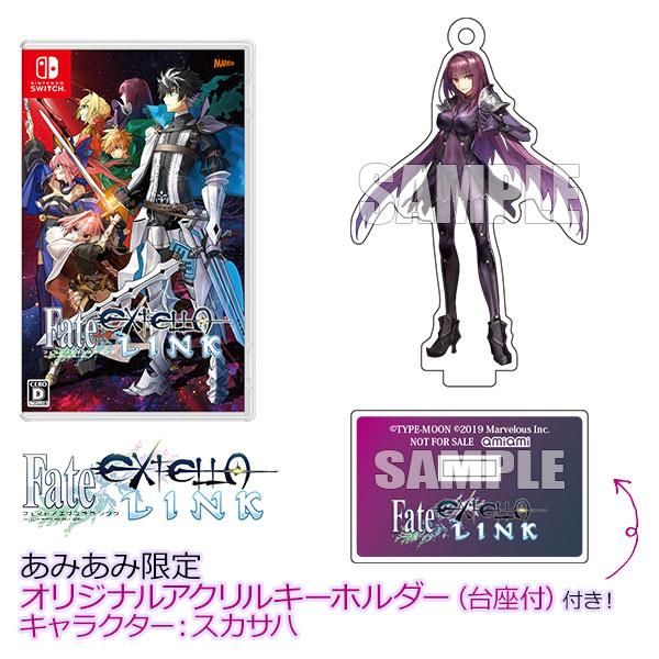 【あみあみ限定特典】Nintendo Switch Fate/EXTELLA LINK[マーベラス]【送料無料】《01月予約》
