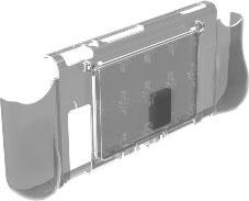 カードケース付き グリップカバー クリア (Switch用)[サイバーガジェット]《12月予約※暫定》