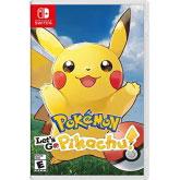 Nintendo Switch 北米版 Pokemon Let's Go, Pikachu![任天堂]《在庫切れ》