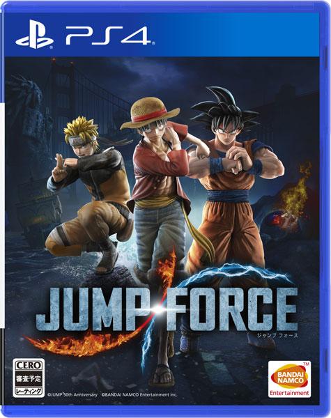 【特典】PS4 JUMP FORCE[バンダイナムコ]《発売済・在庫品》