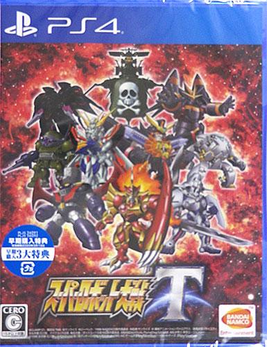 【特典】PS4 スーパーロボット大戦T 通常版[バンダイナムコ]《在庫切れ》