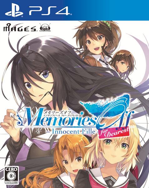 PS4 メモリーズオフ-Innocent Fille- for Dearest 通常版[5pb.]《在庫切れ》