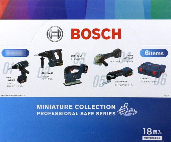 BOSCH ミニチュアコレクション 18個入りBOX[ケンエレファント]《在庫切れ》