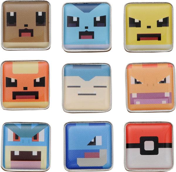 ポケモンクエスト ポクセルピンズコレクション Vol.2 10個入りBOX[タカラトミー]《在庫切れ》