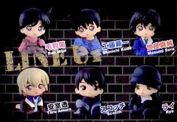 名探偵コナン ちぢませ隊3 10個入りBOX[バンダイ]《発売済・在庫品》