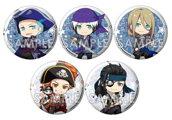 えふぉるめ アイドルマスター SideM キメっ!と缶バッジ 「Pirate's treasure ~不滅の海賊船~ 5個入りBOX[エフドットハート]《在庫切れ》