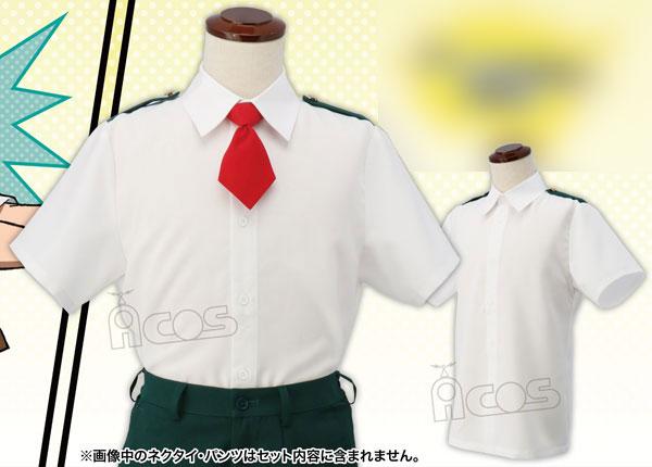 僕のヒーローアカデミア 雄英高校制服(夏服)シャツ Lサイズ(再販)[ACOS]《07月予約》