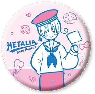 ヘタリア Axis Powers 缶バッジ 1 イタリア[カナリア]《在庫切れ》