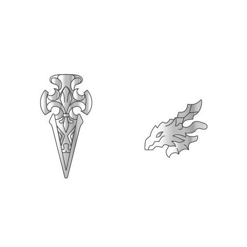 【限定販売】グランブルーファンタジー ピアス2個セット「白竜騎士団」[ブロッコリー]【送料無料】《発売済・在庫品》