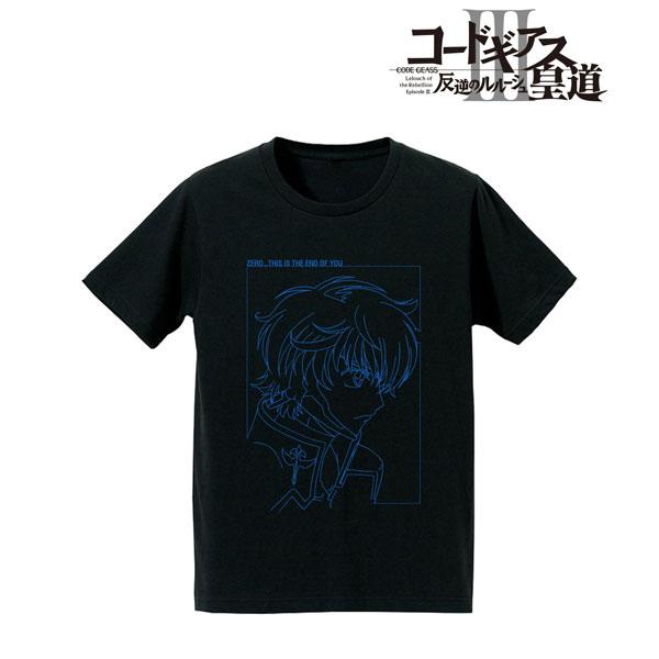 コードギアス 反逆のルルーシュIII 皇道 「ゼロ、君を終わらせる」Tシャツ/メンズ(サイズ/M)(再販)[アルマビアンカ]《在庫切れ》