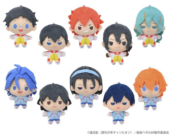 弱虫ペダル GLORY LINE Design produced by Sanrio ぷちぬいマスコット 10個入りBOX[セガ・インタラクティブ]《在庫切れ》