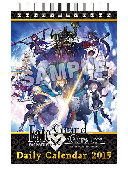 Fate/Grand Order 2019年版日めくりカレンダー[グッドスマイルカンパニー]《12月予約》
