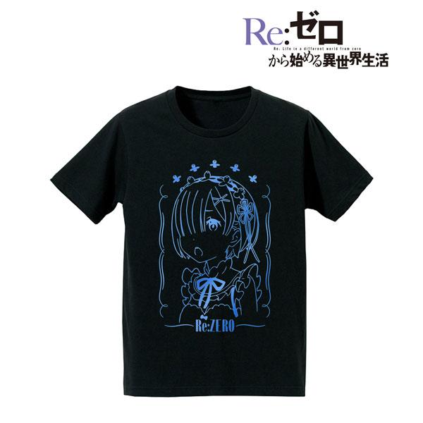Re:ゼロから始める異世界生活 箔プリントTシャツ(レム)/レディース(サイズ/M)(再販)[アルマビアンカ]《08月予約》