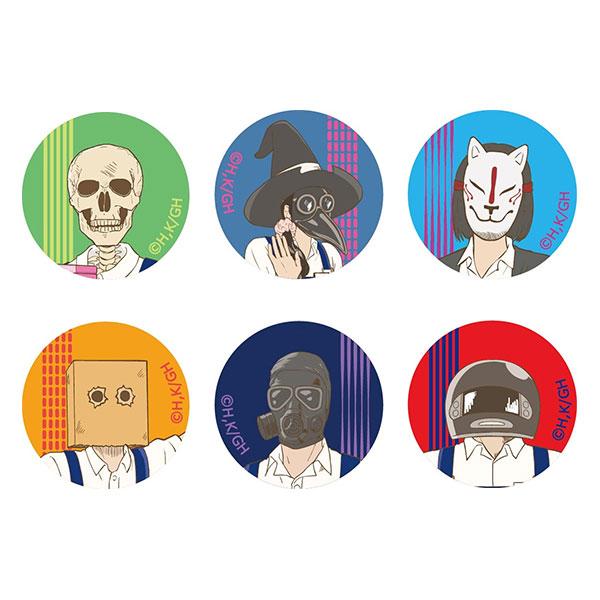 ガイコツ書店員 本田さん 缶バッジセット[キャラアニ]《在庫切れ》