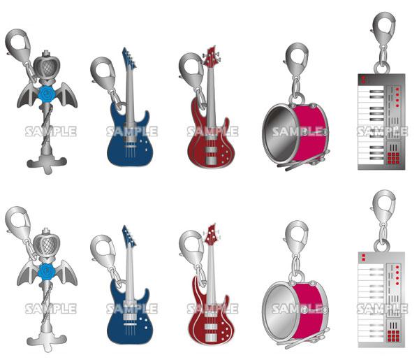 BanG Dream! ガールズバンドパーティ! チャームコレクション Roselia 10個入りBOX(再販)[ブシロードクリエイティブ]《05月予約》