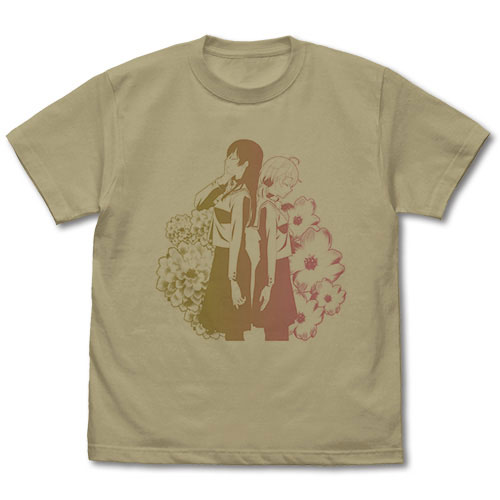 やがて君になる 侑&燈子 Tシャツ/SAND KHAKI-S(再販)[コスパ]《在庫切れ》