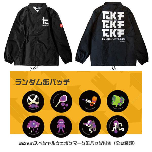 【特典】スプラトゥーン2 ケンサキコーチ ブラック XL[エディットモード]《在庫切れ》