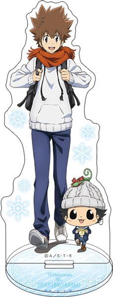 家庭教師ヒットマン REBORN! アクリルスタンド ツナ&リボーン 冬服[ムービック]《在庫切れ》