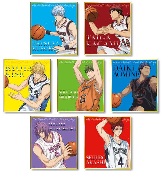 黒子のバスケ ミニ色紙コレクションA 7個入りBOX(再販)[POMMOP]《在庫切れ》
