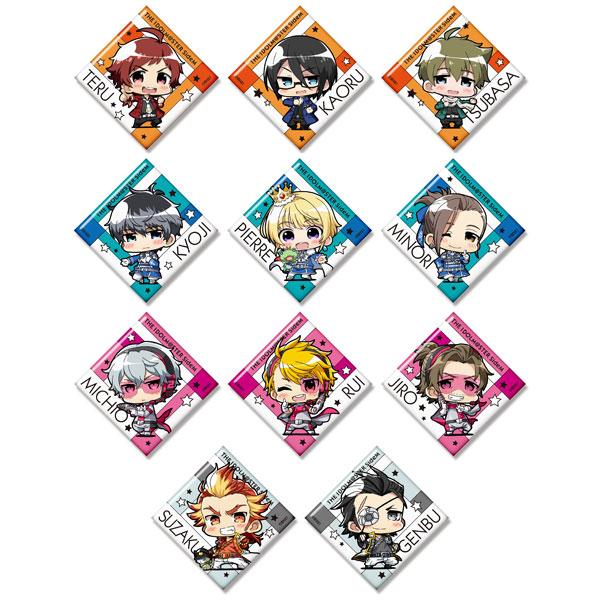 ミニッチュ アイドルマスター SideM トレーディングスクエア缶バッジ 11個入りBOX[ファット・カンパニー]《在庫切れ》