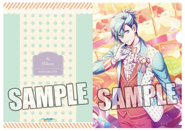 うたの☆プリンスさまっ♪ Shining Live クリアファイル Sweet Cafe LIVE アナザーショットVer.「美風藍」[ブロッコリー]《02月予約》