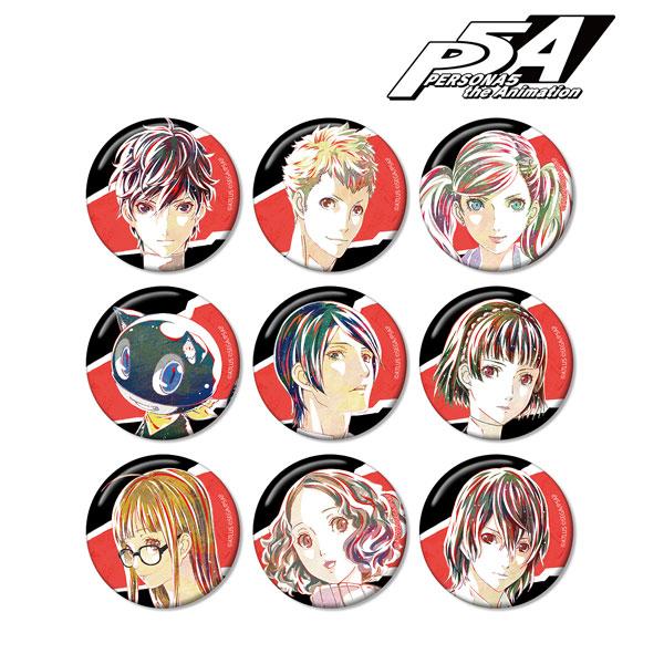 PERSONA5 the Animation トレーディング Ani-Art 缶バッジ 9個入りBOX(再販)[アルマビアンカ]《10月予約》