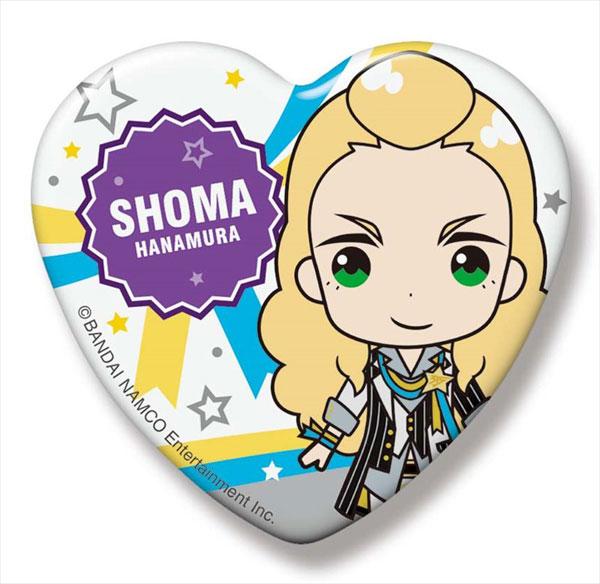 アイドルマスター SideM SideMini ハート缶バッジ グローリーモノクローム 華村翔真[Gift]《在庫切れ》