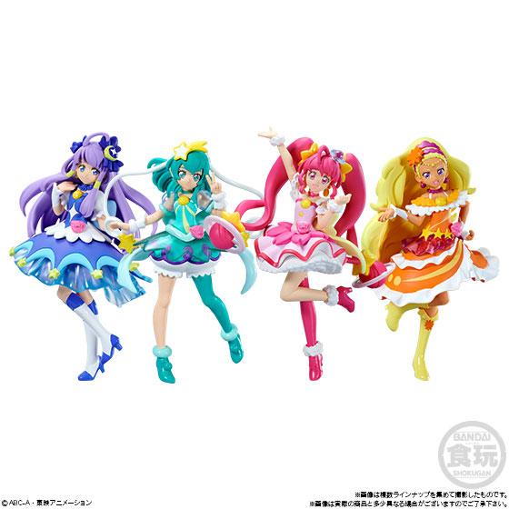 スター☆トゥインクルプリキュア キューティーフィギュア 10個入りBOX (食玩)[バンダイ]《在庫切れ》