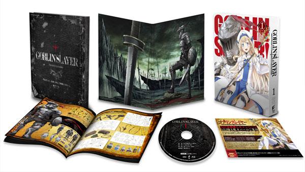【特典】BD ゴブリンスレイヤー 1 初回生産限定 (Blu-ray Disc)[ソニー・ピクチャーズ]《発売済・在庫品》