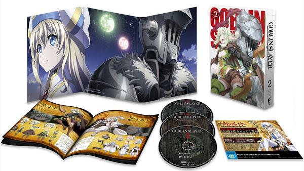 BD ゴブリンスレイヤー 2 初回生産限定 (Blu-ray Disc)[ソニー・ピクチャーズ]《在庫切れ》