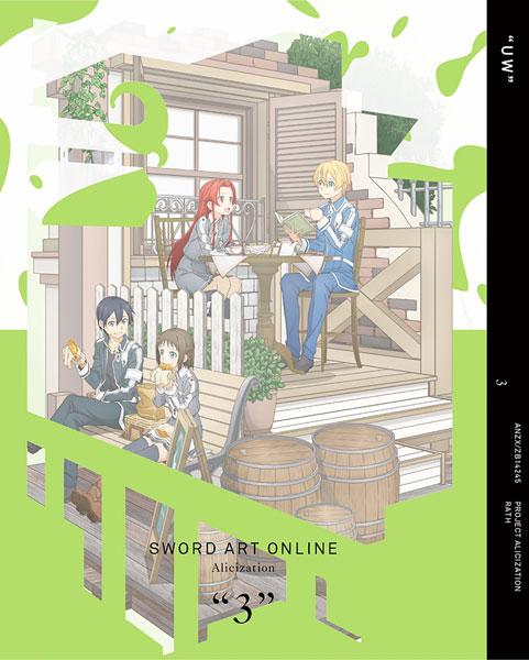 BD ソードアート・オンライン アリシゼーション 3 完全生産限定版 (Blu-ray Disc)[アニプレックス]《在庫切れ》