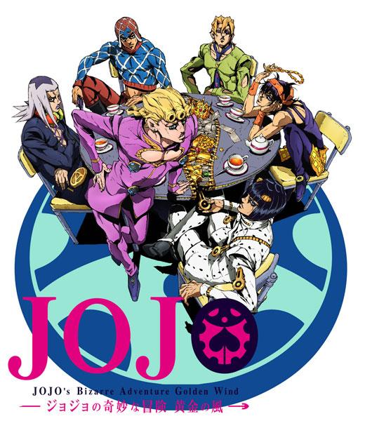 BD ジョジョの奇妙な冒険 黄金の風 Vol.2 初回仕様版 (Blu-ray Disc)[ワーナー・ブラザース]《取り寄せ※暫定》