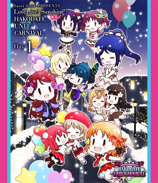 【特典】BD Saint Snow PRESENTS LOVELIVE! SUNSHINE!! HAKODATE UNIT CARNIVAL Blu-ray Day1