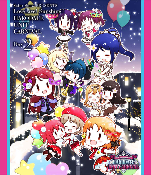 【特典】BD Saint Snow PRESENTS LOVELIVE! SUNSHINE!! HAKODATE UNIT CARNIVAL Blu-ray Day2