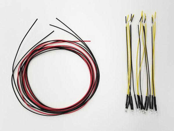 1/45 トレインミュージアムOJ ディティールアップパーツ No.3 電気機関車 EF66用LED キット[アオシマ]《在庫切れ》