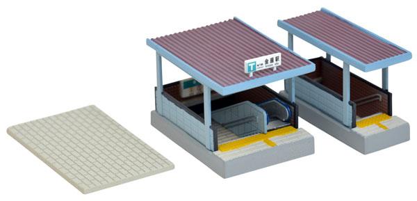 情景コレクション 情景小物125 地下鉄入口[トミーテック]《在庫切れ》