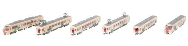 鉄道コレクション 西日本鉄道8000形 旅人-たびと- 6両セット[トミーテック]《発売済・在庫品》