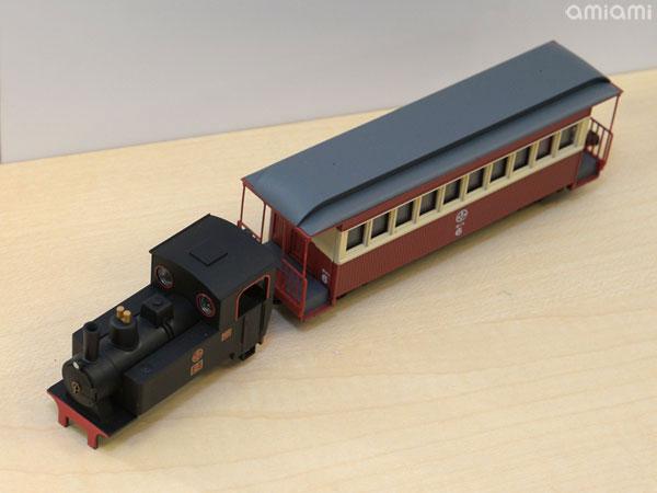 鉄道コレクション ナローゲージ80 猫屋線 蒸気機関車+客車(旧塗装)トータルセット[トミーテック]《03月予約》