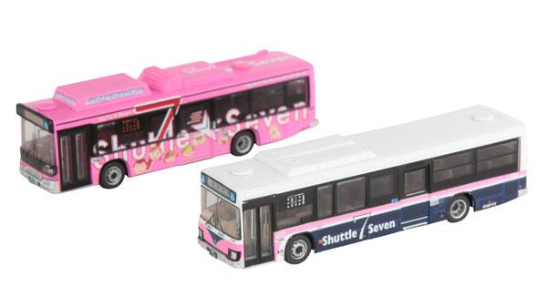 ザ・バスコレクション 京成バスシャトルセブン新旧カラー2台セット[トミーテック]《発売済・在庫品》