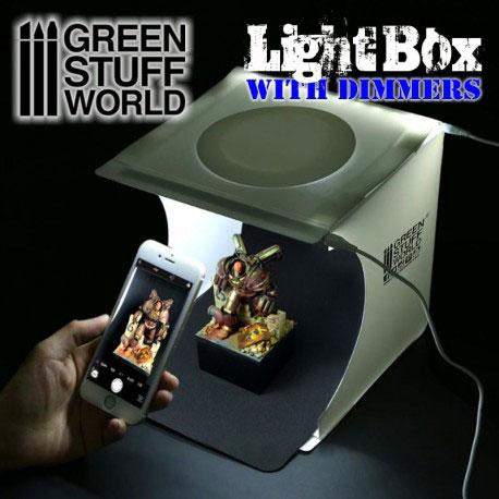 LED付ボックス撮影ブース[グリーンスタッフワールド]《在庫切れ》