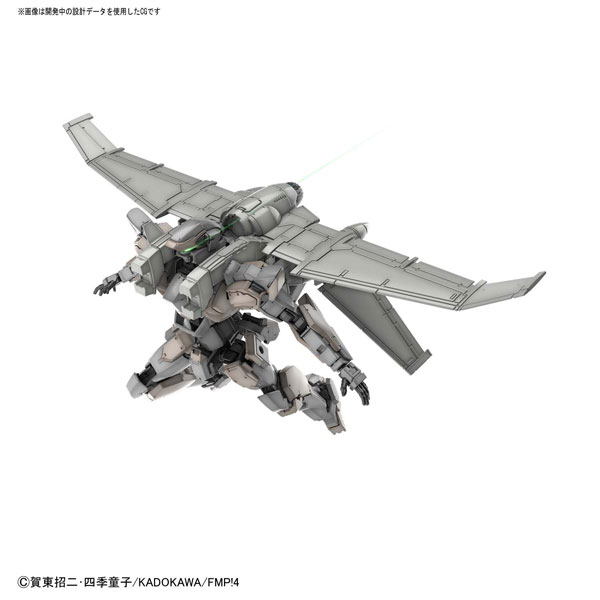HG 1/60 アーバレストVer.IV(緊急展開ブースター装備仕様) プラモデル 『フルメタル・パニック! Invisible Victory』[BANDAI SPIRITS]《発売済・在庫品》