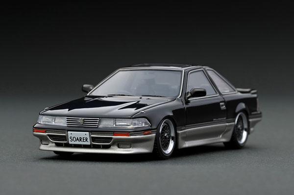1/43 トヨタ ソアラ(Z20) 2.0GT-TWIN TURBO L Black/Silver[イグニッションモデル]《在庫切れ》