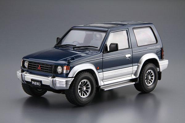 ザ・モデルカー No.103 1/24 ミツビシ V24WG パジェロ メタルトップワイドXR-II' 91 プラモデル(再販)[アオシマ]《05月予約》