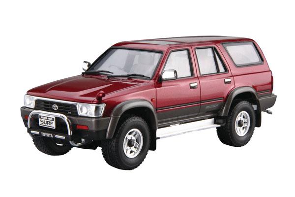 ザ・モデルカー No.104 1/24 トヨタ VZN130G ハイラックスサーフ SSR-X ワイドボデー'91 プラモデル[アオシマ]《01月予約》
