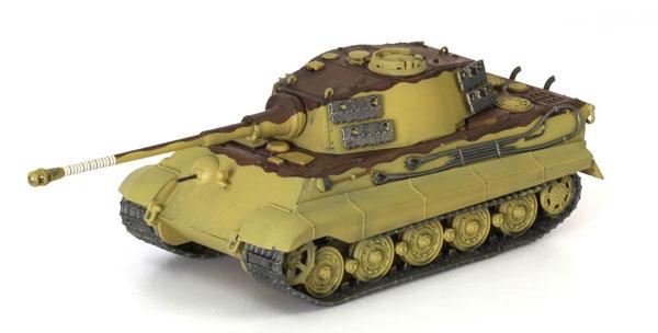 1/72 WW.II ドイツ軍 重戦車 キングタイガー ヘンシェル砲塔 第509重戦車大隊 ハンガリー1945 完成品[ドラゴンアーマー]《在庫切れ》
