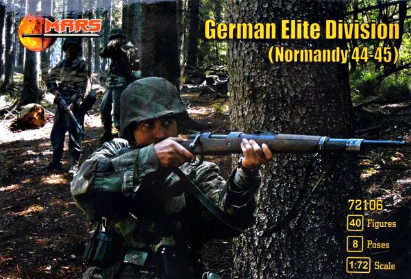 1/72 ドイツ武装親衛隊・ノルマンディー1944・8ポーズ40体 プラモデル[マース]《在庫切れ》