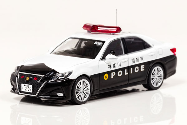 1/43 トヨタ クラウン アスリート (GRS214) 2017 神奈川県警察高速道路交通警察隊車両(509)[RAI'S]《在庫切れ》