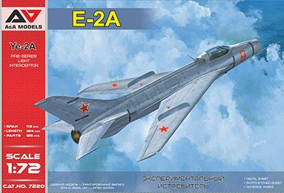 1/72 露・ミコヤンYe-2Aフェイスプレイト試作戦闘機(A&Amodelブランド) プラモデル(再販)[モデルズビット]《11月予約》